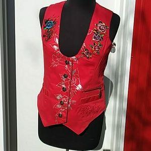 Ed Hardy Women's Vest Size L